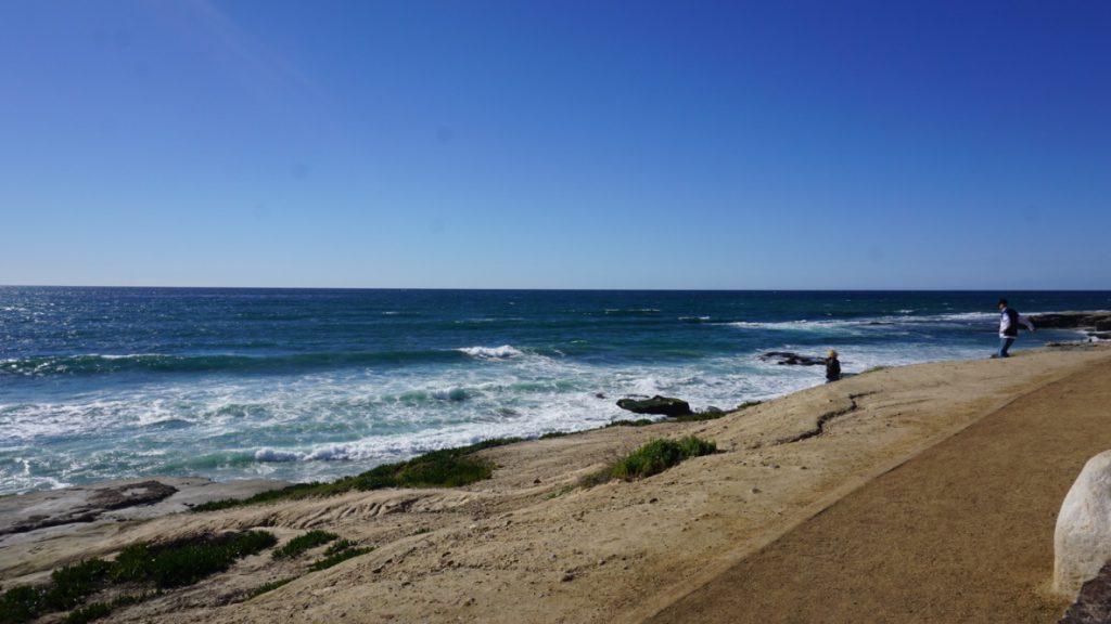 サンディエゴの海岸